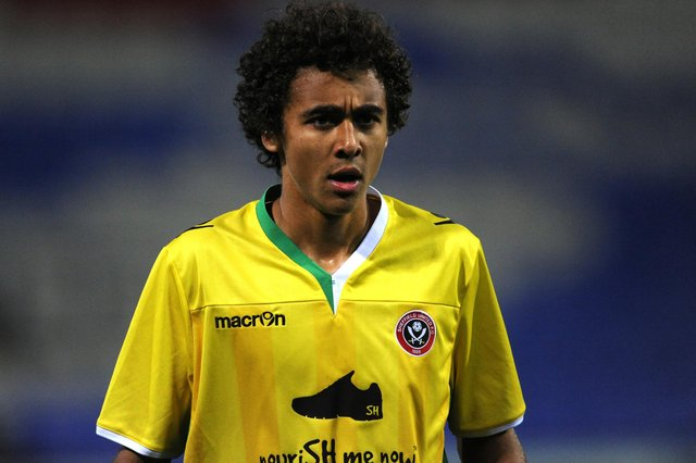 Dominic Calvert Lewin in his Sheffield United days - © BLADES SPORTS PHOTOGRAPHY