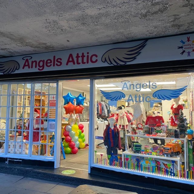 Angels Attic. Picture taken from Facebook