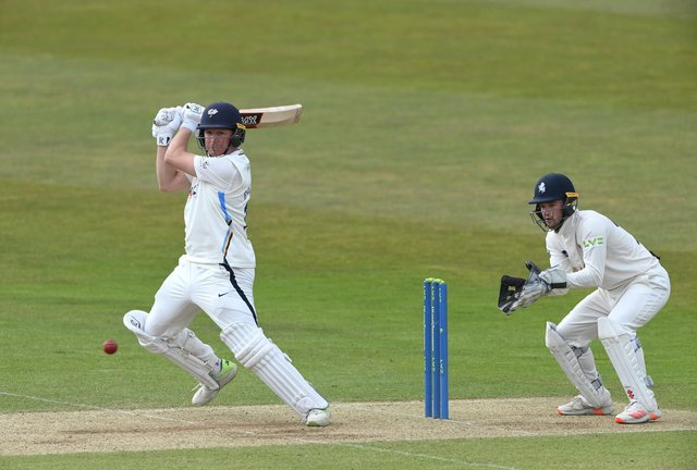 Yorkshire batsman Gary Ballance.  (Photo by Stu Forster/Getty Images)