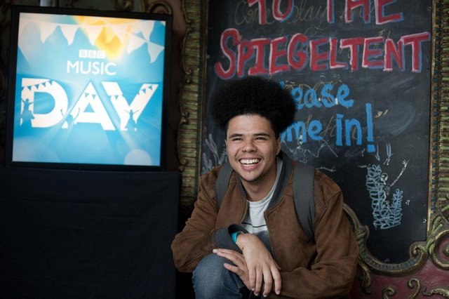 Sheffield's Poet Laureate Otis Mensah who will be performing during  Sheffield Makes Music event 2019, part of BBC Music Day.