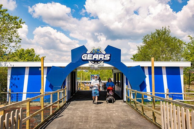 Gulliver's Gears, which is aimed at transport-mad youngsters, opened at Gulliver's Valley theme park in May this year