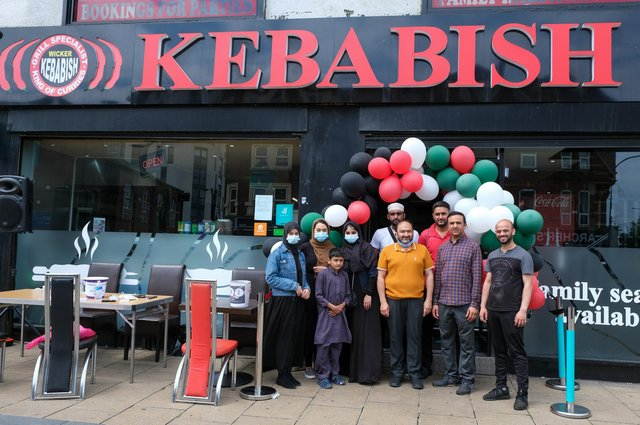 Charity event to raise money for Palestine at Kebabish on The Wicker