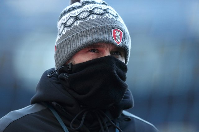 Rotherham United manager Paul Warne. (Photo by Jan Kruger/Getty Images)