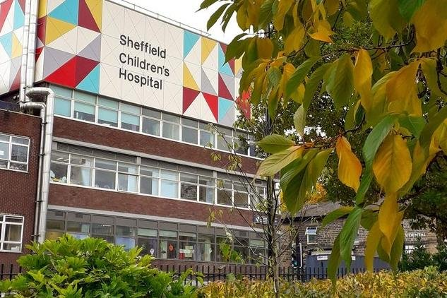 Pictured is Sheffield Children's Hospital on Clarkson Street, at Broomhall.