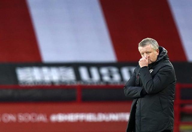 Chris Wilder has left Sheffield United: Andrew Yates/Sportimage