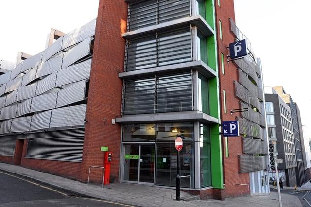 Q-Park, Rockingham Street, Sheffield. Picture: NSST-30-01-19-QParkRockingham-1