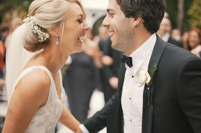 June 21 is given in the Government's roadmap as the day when weddings could begin to happen with no limit on numbers. Image: Pixabay.
